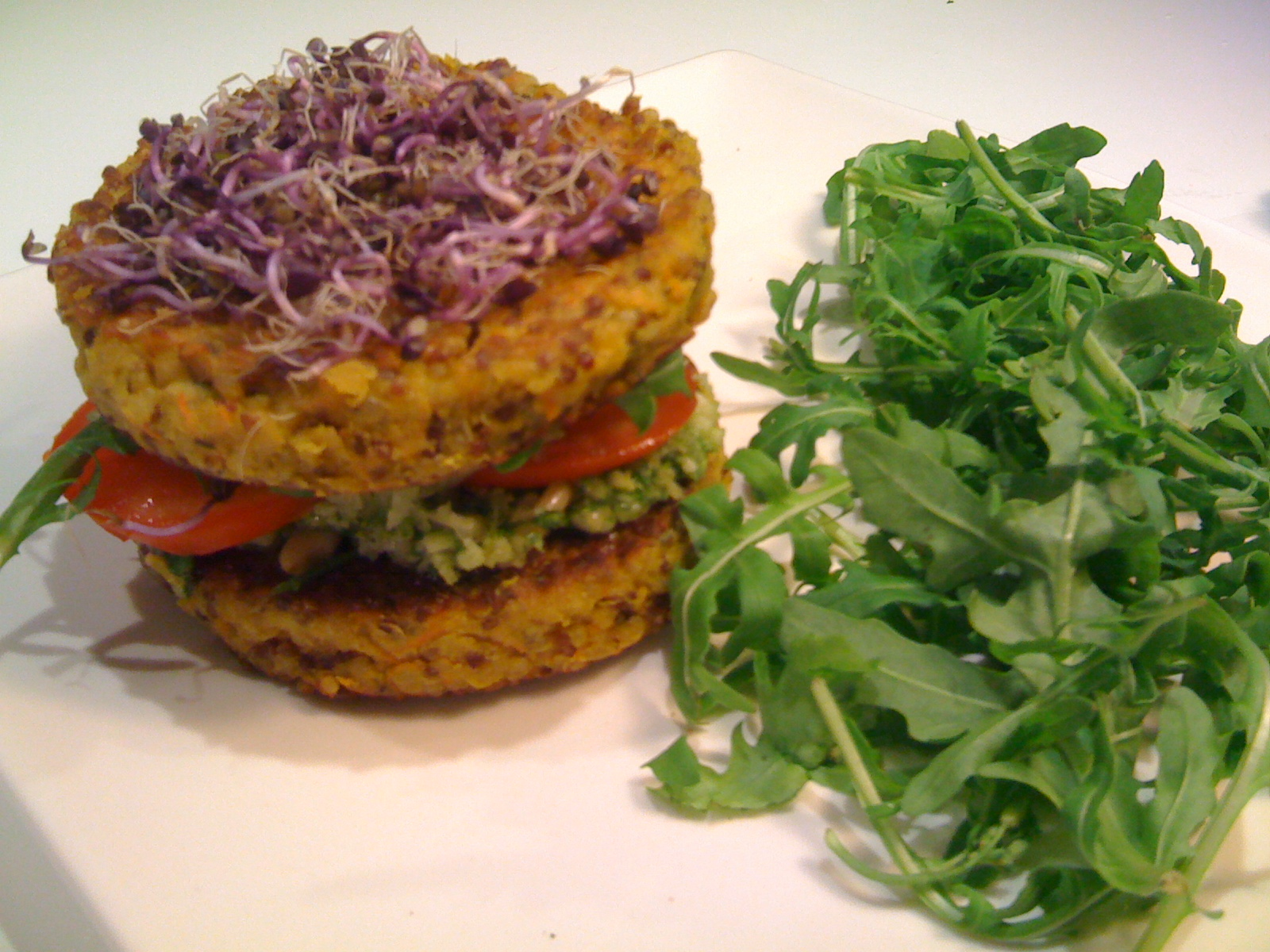 Kitchen express : Burger de quinoa