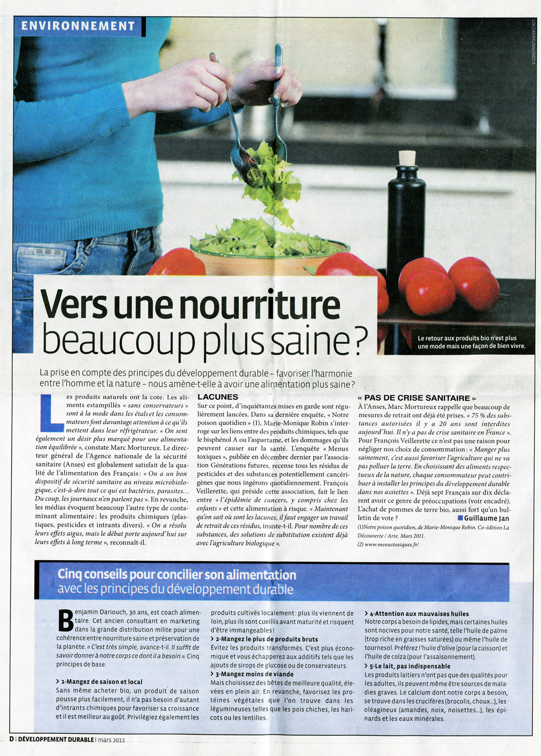 LeParisien_Developpement Durable