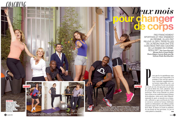 Naturacoach dans le magazine Be
