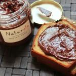 Recette bio de pâte à tartiner chocolat-noisettes sans huile de palme, sans lait et sans sucre (Naturola)