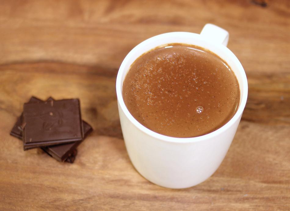 bienfait du chocolat chaud
