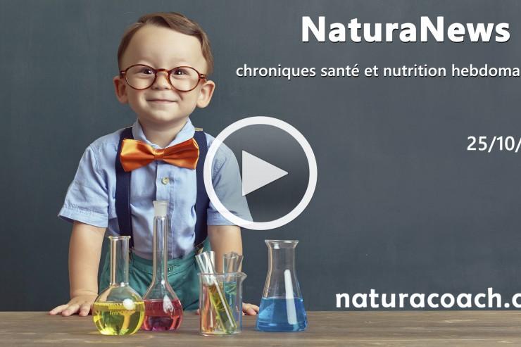 NaturaNews#3 : viande végétale, antioxydants, sommeil, cholestérol et équilibre acido-basique