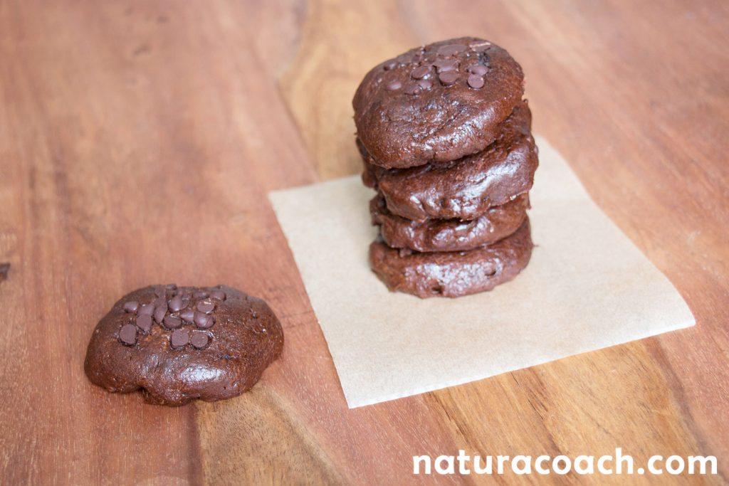 Recette de cookies ultra moelleux chocolat noisette sans - Recette cookies chocolat moelleux ...